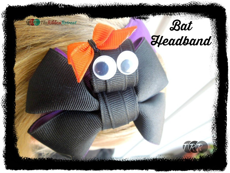 Bat Headband - The Ribbon Retreat Blog