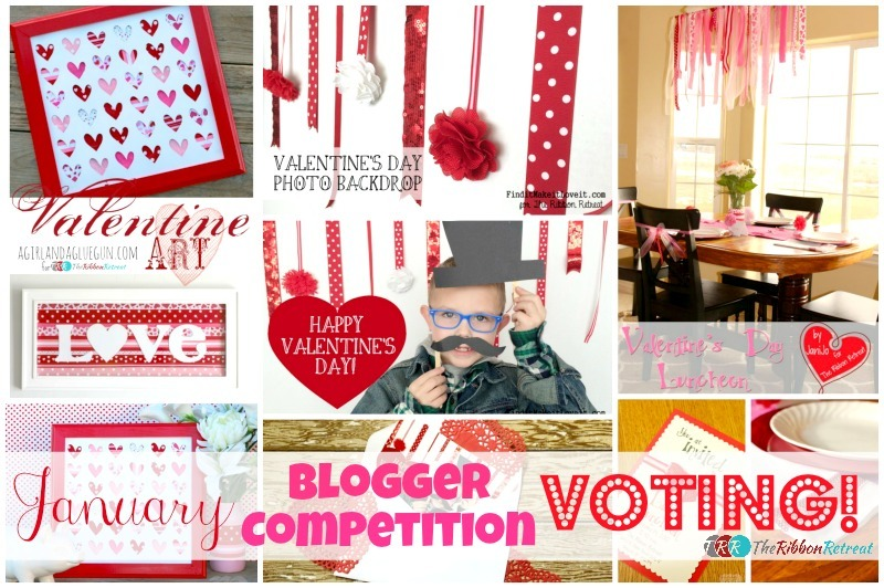 January Blogger Competition Voting - The Ribbon Retreat Blog