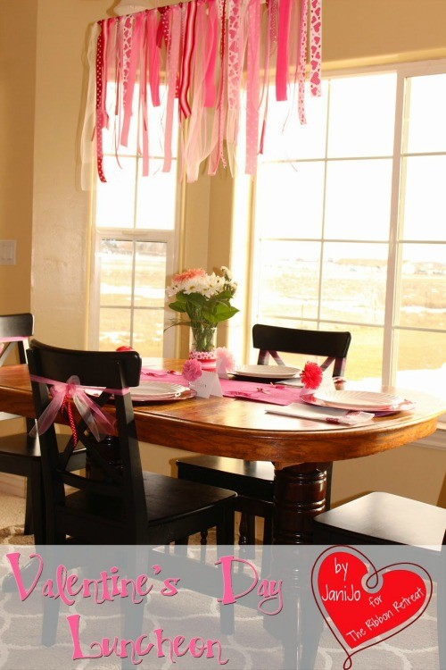 Valentine's Day Luncheon Decor, Blogger Competition no.3