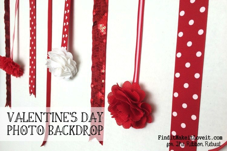 Valentine's Day Photo Backdrop, Blogger Competition no.1