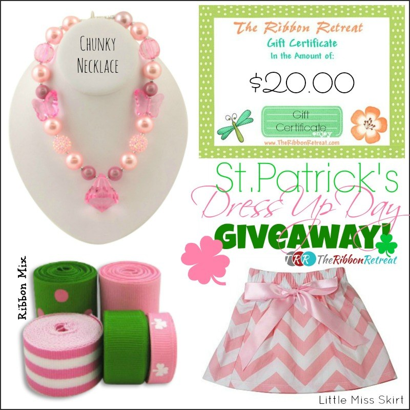 St. Patrick's Day Giveaway - The Ribbon Retreat Blog
