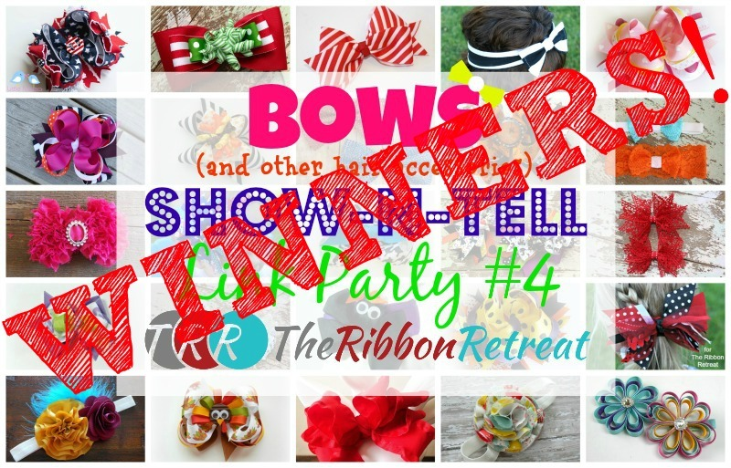 Bows Show-N-Tell Link Party #4, Winners - The Ribbon Retreat Blog