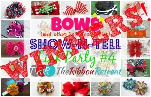 Bows Show-N-Tell Link Party #4 WINNERS!