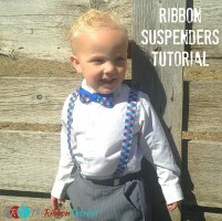Ribbon Suspenders Tutorial