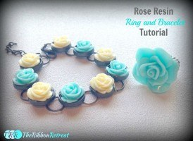Rose Resin Ring and Bracelet Tutorial