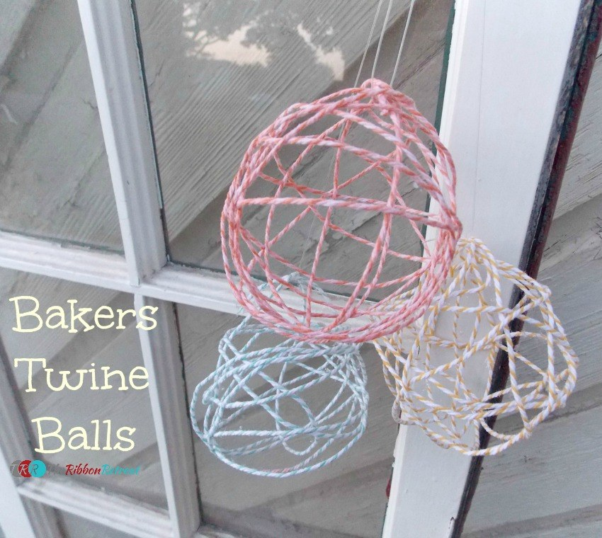 Baker's Twine Balls - The Ribbon Retreat Blog