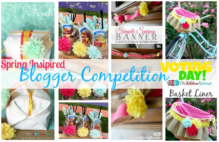 Spring Inspired Blogger Competition - The Ribbon Retreat Blog