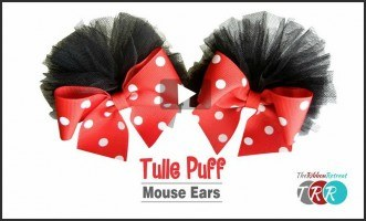 Tulle Puff Mouse Ears, YouTube Thursday