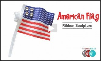 American Flag Ribbon Sculpture, YouTube Thursday