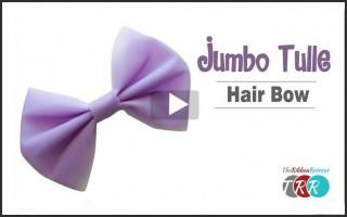Jumbo Tulle Hair Bow, YouTube Thursday