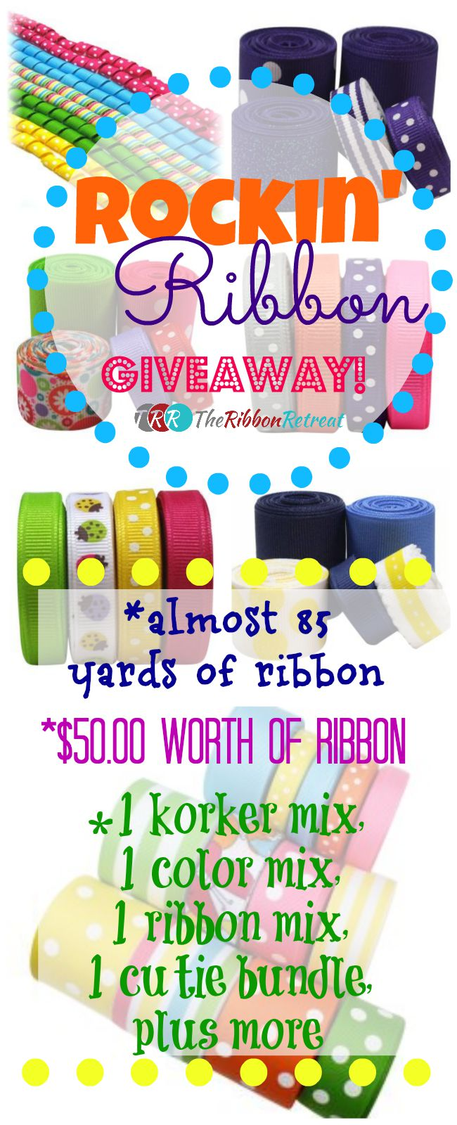 Rockin' Ribbon Giveaway - The Ribbon Retreat Blog