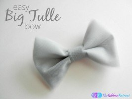 Big Tulle Bow