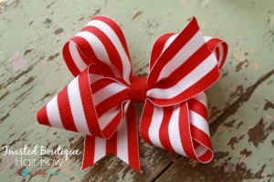 How To Make A Twisted Boutique Hair Bow