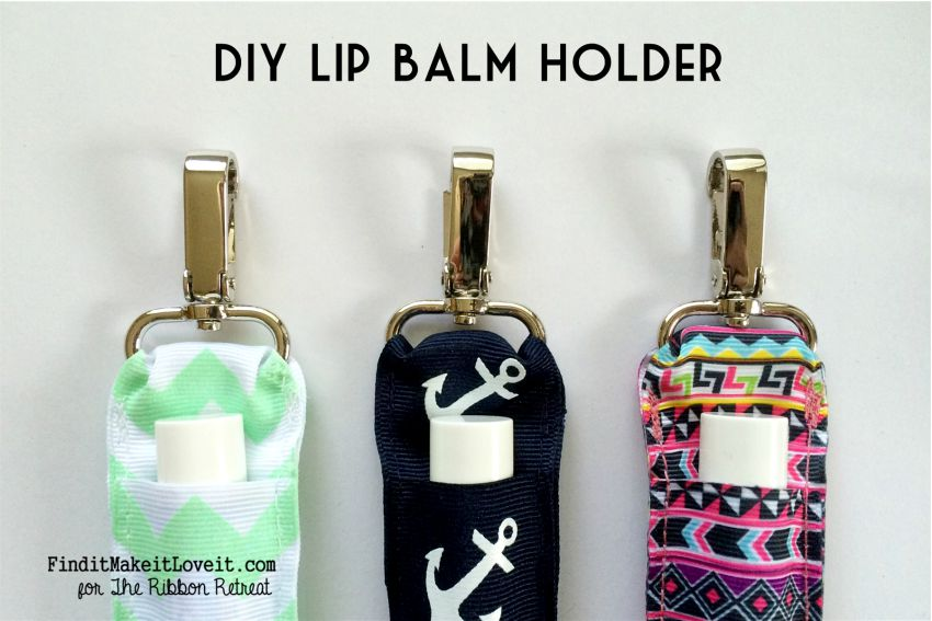 DIY Lip Balm Holder - The Ribbon Retreat Blog