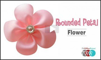 Rounded Petal Flower, YouTube  Video
