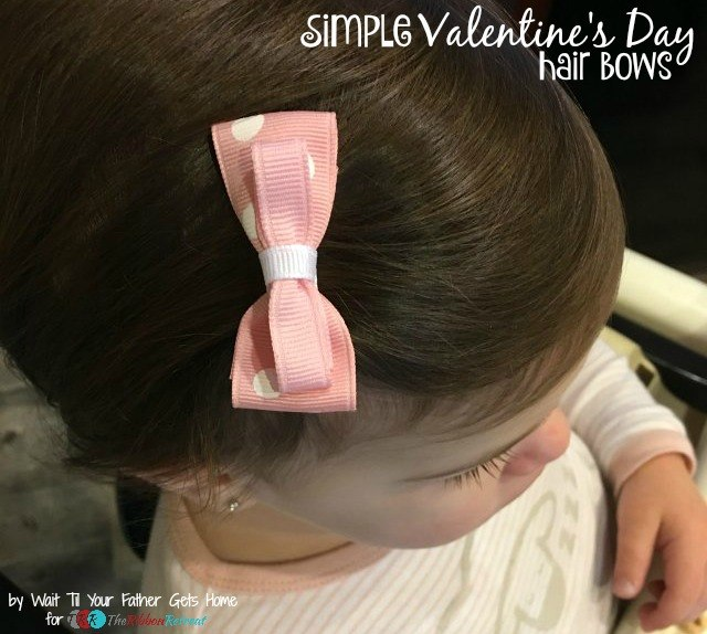 Simple Valentine's Day Inspired Bows - The Ribbon Retreat Blog