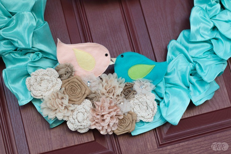 Welcome to our Nest Spring Wreath - The Ribbon Retreat Blog