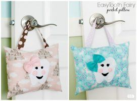 Easy Tooth Fairy Pocket Pillow