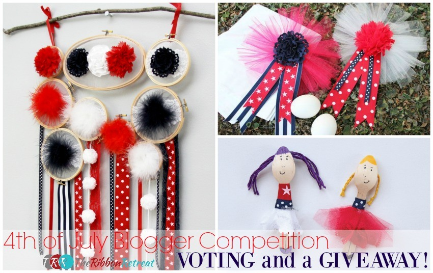 4th of July Blogger Competition Voting and a Giveaway - The Ribbon Retreat Blog