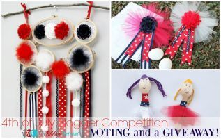 4th of July Blogger Competition Voting Day AND a Giveaway!