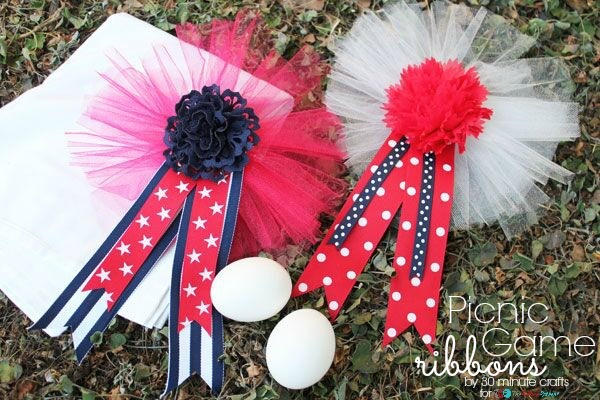 Picnic Game Ribbons, 4th Blogger Competition #3 - The Ribbon Retreat Blog