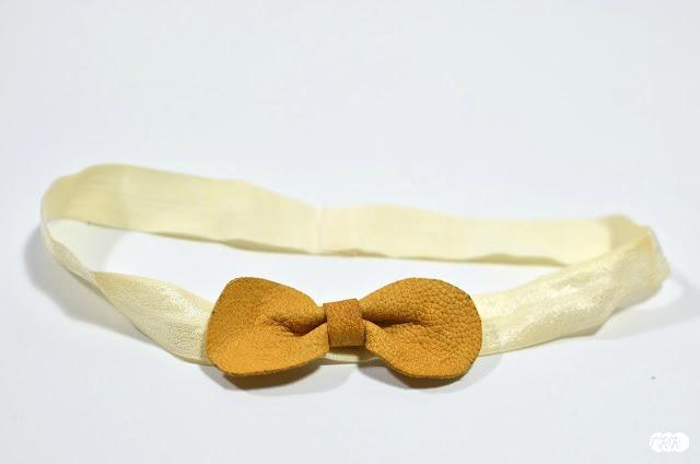 Leather Bows and Headbands - The Ribbon Retreat Blog