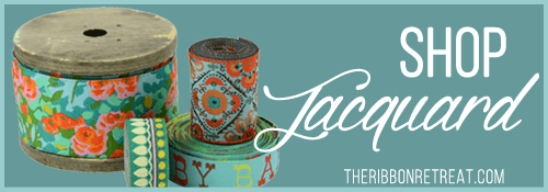 Jacquard Ribbon - The Ribbon Retreat