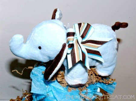 Diaper Cake - {The Ribbon Retreat Blog}