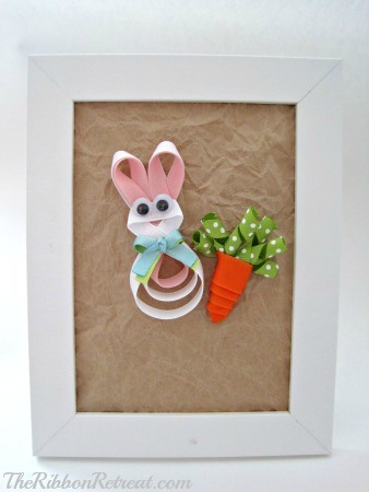 Easter Ribbon Sculptures - {The Ribbon Retreat Blog}