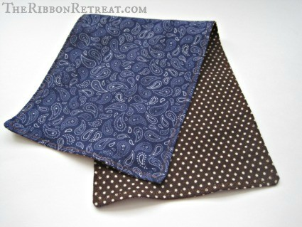 Flannel Burp Cloths - {The Ribbon Retreat Blog}
