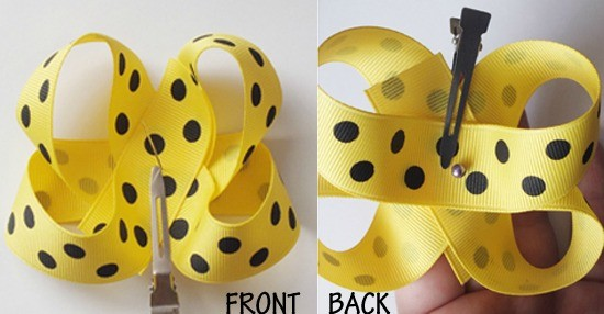 How to Make Bows: Twisted Boutique Bow  {The Ribbon Retreat Blog}
