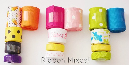 How to Make Bows: Ribbon Mixes {The Ribbon Retreat Blog}