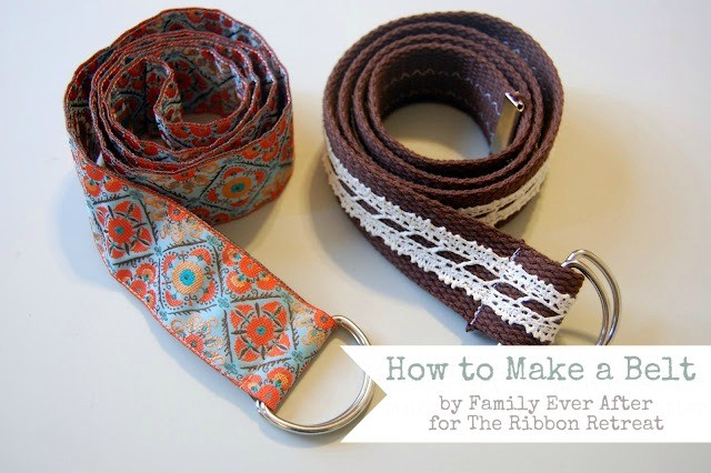 Learn how to make stylish belts, perfect for accessorizing!
