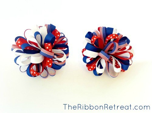 Make a set of Loopy Puff Bows!
