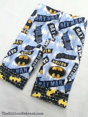 Cutest cuffed one seam pajama pants.