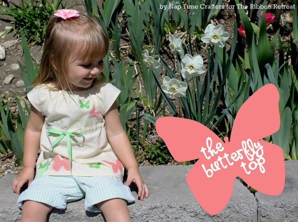 The Butterfly Top - The Ribbon Retreat Blog